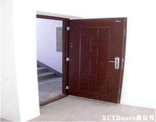 河南郑州做防盗门的厂家-家装防盗门是内开还是外开